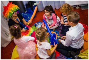 modelowanie balonów animacje dla dzieci
