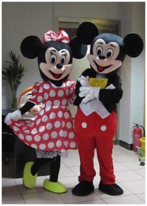 Myszka Minnie, Myszka Miki maskotka animacyjna